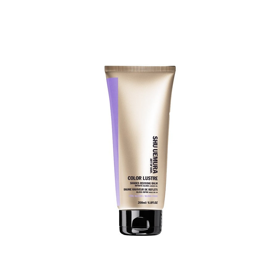 shu uemura art of hair color lustre cool blonde shade reviving balm - Lustre Color
