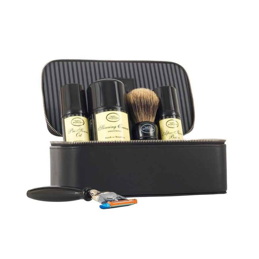 the art of shaving travel kit. Black Bedroom Furniture Sets. Home Design Ideas