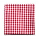 Jack Robie Gingham Pocket Square