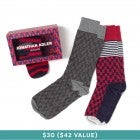 JONATHAN ADLER Dress Socks Box Set