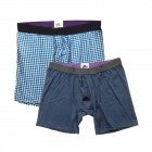 MeUndies Boxer Briefs (Gingham & Navy)