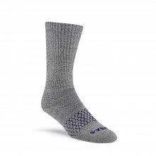 Bombas Merino Wool Calf Socks - Charcoal