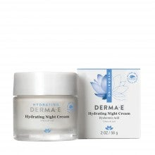 derma e® Hydrating Night Cream with Hyaluronic Acid