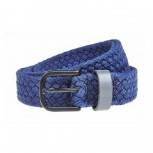 Men In Cities Two Tone Woven Cotton Belt