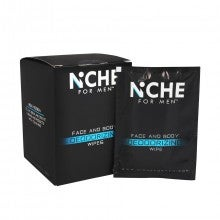 Niche For Men Male Deodorizing Wipes