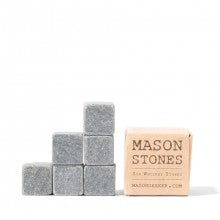 The Mason Shaker Whiskey Stones