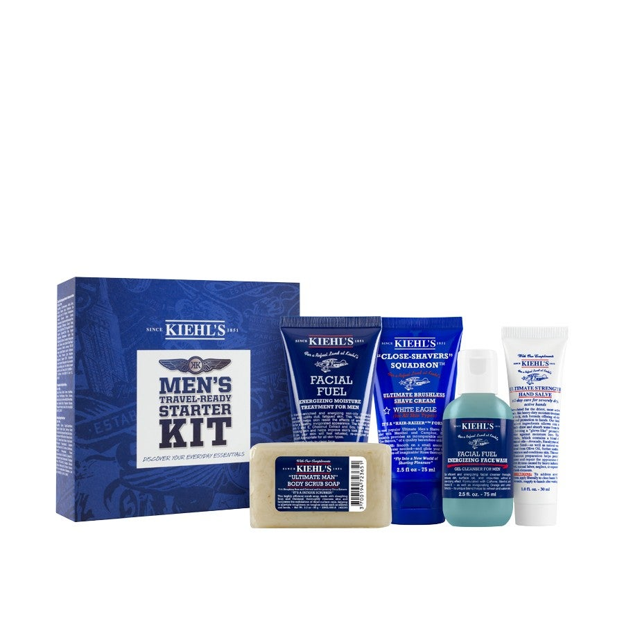 kiehl 39 s men 39 s starter kit. Black Bedroom Furniture Sets. Home Design Ideas